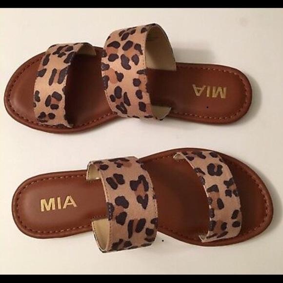 5cac4c5d5c0 Mia Shoes - Sandals - Ivy Cheetah Nova Suede
